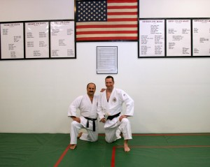 MJ& Sensei after his Blk Blt ceremony